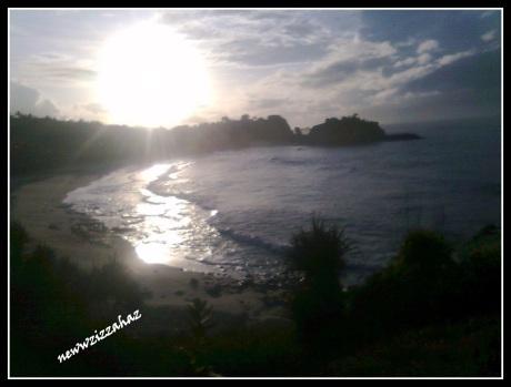 Klayar 2012... menikmati sunrise di bulan Januari