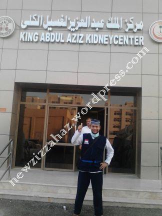 Klinik hemodialisa di Madinah